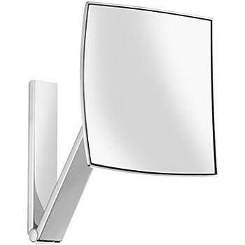 keuco 17613010000 kosmetikspiegel ilook move 17613 unbeleuchtet wandmodell an schwenkarm. Black Bedroom Furniture Sets. Home Design Ideas