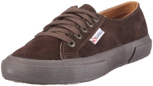 Superga 2750- SUEU S003SR0 Unisex - Erwachsene Fashion Sneakers Braun (Full Dark Chocolate / G08)