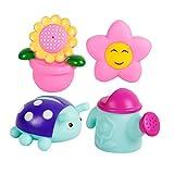 MagiDeal Sonnenblume Sprinkler Baby Kinder Badespielzeug Wasserspielzeug Kunststoff