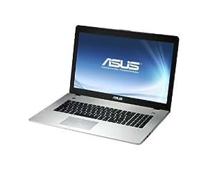 """Asus N76VZ 90NAJC452L3384VL154 Ordinateur portable 17,3"""" (43,9 cm) Intel Core i7-3610QM 2 To RAM 8192 Mo Windows 7 Carte graphique Nvidia GT650M"""