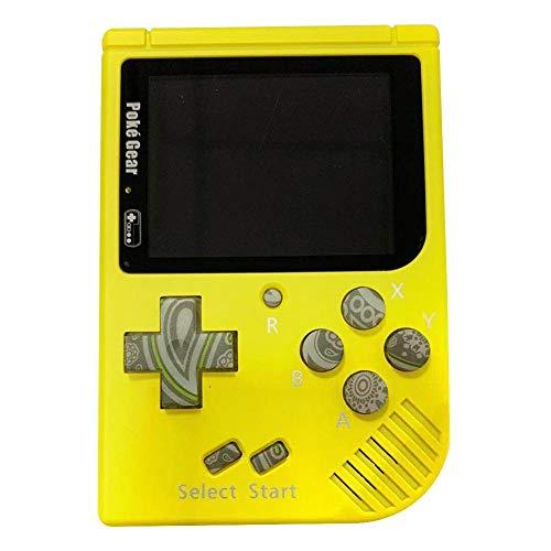 Househome Mini-Spielekonsole, tragbar, Pokemon Retro, tragbar, Spiel-Farben für Kinder, mit ACL-Display, 2,5 Zoll Farbdisplay, Spielkonsole - Elektronische Pokemon Spielzeug