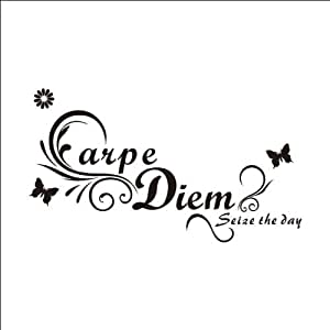 Carpe Diem Catchphrase stickers muraux