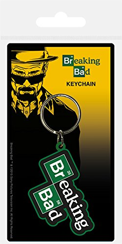Breaking Bad Llavero del logotipo de goma