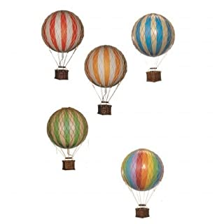 Authentic Models Floating The Skies Hot Air Balloon Model Green
