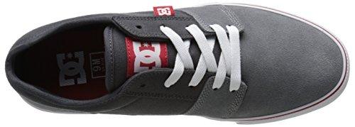DC TONIK Unisex-Erwachsene Sneakers Grey/Grey/Red