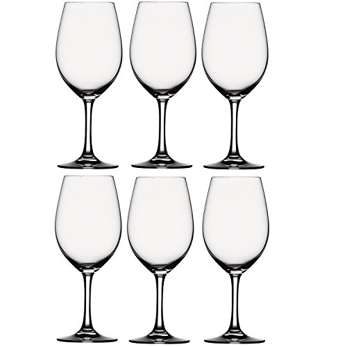 Price comparison product image SPIEGELAU® Festival Rotwein Magnum Bordeaux Large Wine Table Platinum Glass Set - 456ml / 13.5oz - PACK OF 6 (MADE IN GERMANY)