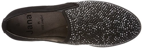 Jana Ladies 24603 Slipper Nero (nero)