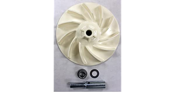 Kirby 119078G Vacuum Cleaner 4-Piece Off-White Plastic Fan Kit