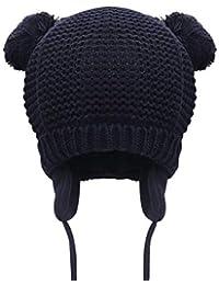 DORRISO Cappello Bambino Caldo Autunno Invernale Carina Piccolo Cappelli  Berretto Bambini Infantili del Cappello per 1 6b7953957d82