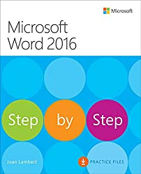 Microsoft Word 2016 Step By Step: MS Word 2016 S by Step _p1 (English Edition)