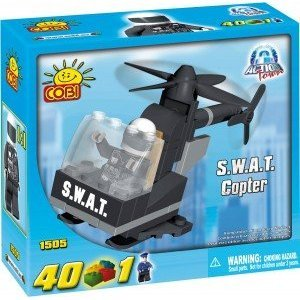 Cobi-Action-Town-Police-Jail-SWAT-Copter-Toy-Playset