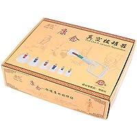 Kays Schröpfen Set Chinesische Schröpfen Therapie-Set, 24 Vakuum-Luft-Saugnäpfe mit Pumpen Griff, Gewichtsverlust... preisvergleich bei billige-tabletten.eu