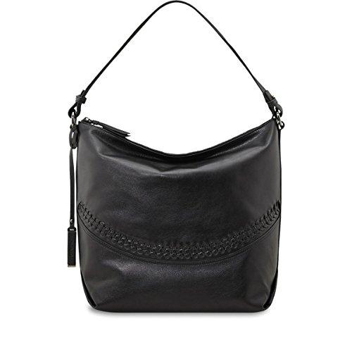 PICARD Handtaschen PANAMA Rindleder SCHWARZ / NOUGAT Nr.8088 schwarz