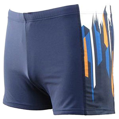 Moollyfox Hommes Couleurs Multiples Angle Plat Maillots de bain Style 12