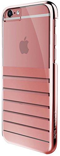 X-Doria Engage Plus Schutzhülle Clip-On Case Cover für iPhone 6/6s - Metallic Rose Gold (Crocs Armband)