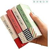 Carnets de poche drôle notes autocollantes bloc-notes avec un stylo de couleur envoyé au hasard 1 pièce