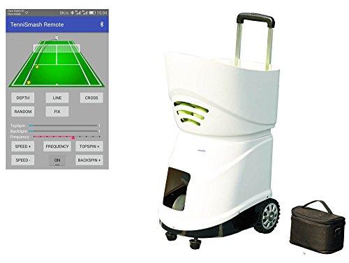 Easyday Tennisball-Maschine, automatisch, tragbar, Smart-Tennisball-Maschine mit intelligenter Reomote-Kontrolle -