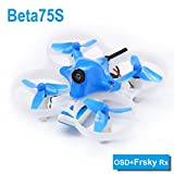 BETAFPV Beta75S Whoop Drone 1S Brushed FPV Quadcopter with F4 FC Frsky Receiver Z02 Camera OSD Smart Audio 8X20 Motor for Tiny Whoop FPV Racing