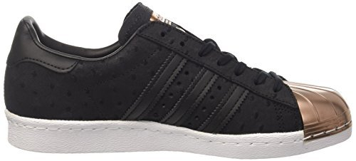 adidas Damen Superstar 80s Metallic Pack Sneaker core black/core black/copper metallic