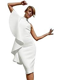 miglior sito web 93f29 b5089 vestiti monospalla - 4121316031: Abbigliamento - Amazon.it
