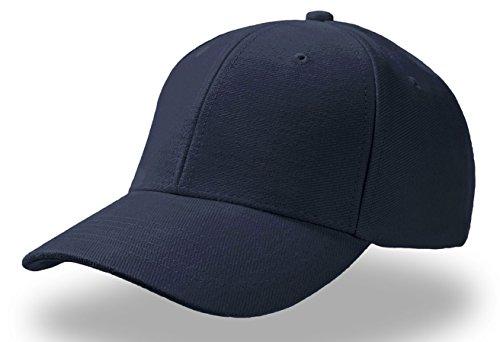 PILOT BLUE NAVY Baseball Cap Cappello Hüte Kappen Chapeaux Berretto Cotone Fibbia Metallo