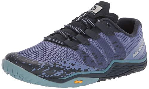 Merrell Trail Glove 5, Zapatillas Deportivas para Interior para Mujer, Azul (Velvet Morning), 38.5 EU