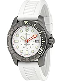 Victorinox Swiss Army Montre, Homme Dive Master 500m Blanc Caoutchouc Bracelet 43mm 241559