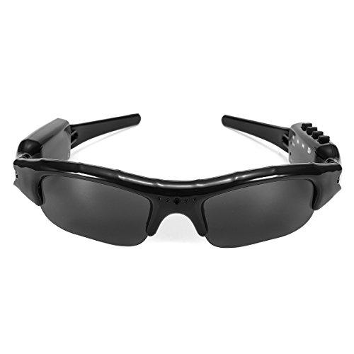 GOZAR 1080P Fhd Digital Video Recorder Kamera Sonnenbrille Bluetooth Polarisierte Brille