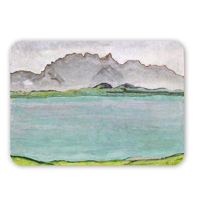 The Stockhorn Mountains and Lake Thun, 1911.. - Mousepad - Natürliche Gummimatten bester Qualität - Mouse Mat