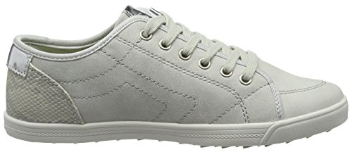 s.Oliver 23631, Sneakers basses femme Gris (LT GREY 210)