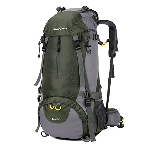 SHADOW DOMAIN Wanderrucksack Trekkingrucksack Nylon reiserucksack Camping Rucksack