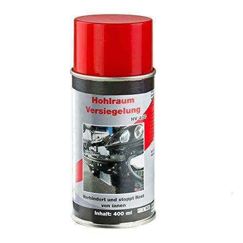 TronicXL Premium Hohlraumversieglung Rostschutz Spray 400 ml Profi Schutz für Auto LKW Roller Motorrad Wohnwagen Wohnmobil Traktor Oldtimer PKW KFZ Pflege Pflegemittel Schloss Eisen Metall