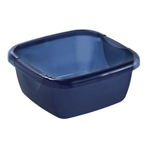 Rotho 78240LG000WS Becken eckig Daily 8 L, blau