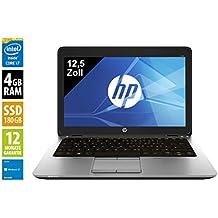 HP Elitebook 820 G1 | Notebook | Laptop | 12,5 Zoll (1366x768) | Intel Core i7-4600U @ 2,1 GHz | 4GB DDR3 RAM | 180GB SSD | Windows 10 Home (Generalüberholt)