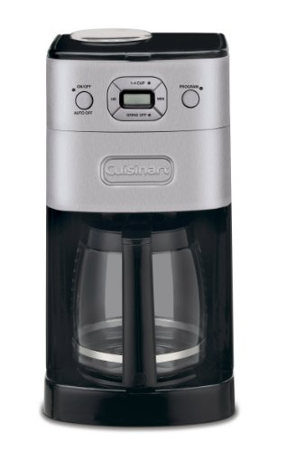 41tAbjE5%2BtL - Cuisinart Grind and Brew Automatic | Bean to Cup Filter Coffee Maker | Glass Carafe | DGB625BCU