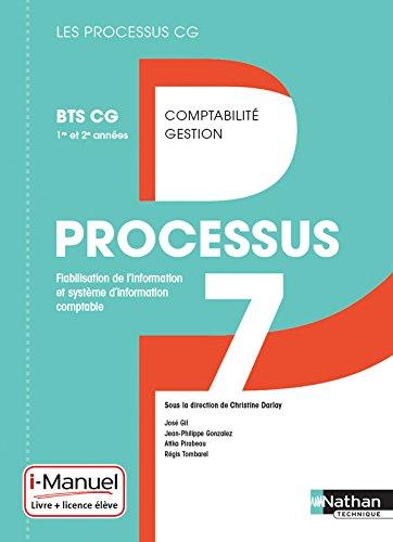 Processus 7 - BTS CG 1re et 2e années