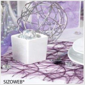 Sizoweb Tischband neongelb – 30 cm – Rolle 25 Meter – 64 142-R 300 - 3
