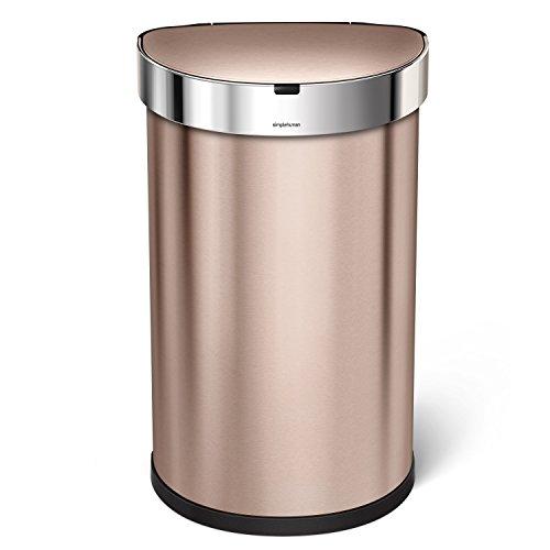 Simplehuman - Cubo de basura con sensor 45l
