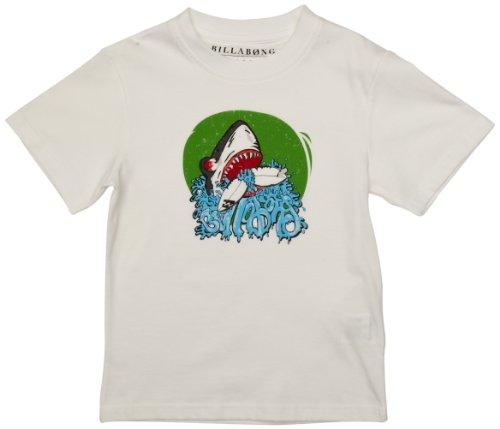 BILLABONG Jungen T-Shirt Sharky Short Sleeve 14 Jahre weiß -