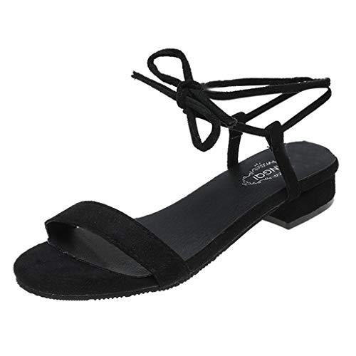 Eaylis Sommer Sandalen Damen Mit Absatz RöMische Sandalen Mit Niedrigem Absatz Und Offenen Zehen