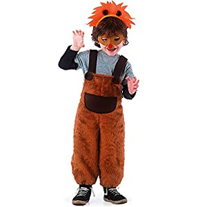 Carnival Toys 60048-León, disfraz para niños con máscara y diadema