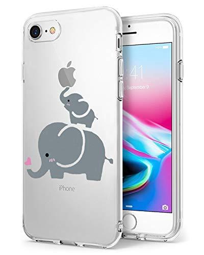 Caler ® Funda Reemplazo para iPhone 7 iPhone 8 Funda, Suave TPU...