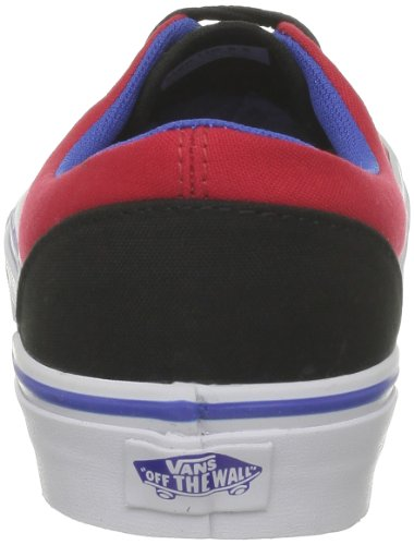 Vans U Era - Baskets Mode Mixte Adulte Rouge (Red/Princess Bl)