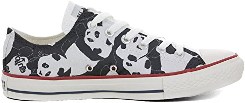 Converse All Star personalisierte Schuhe (Handwerk Produkt) Panda Style
