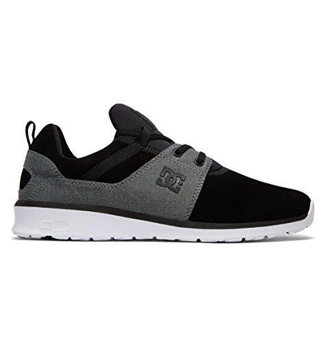 DC Shoes Herren Heathrow SE Sneaker, Schwarz (Black Wash Bw8), 43 EU (Shoes Athletic Sneakers Dc)