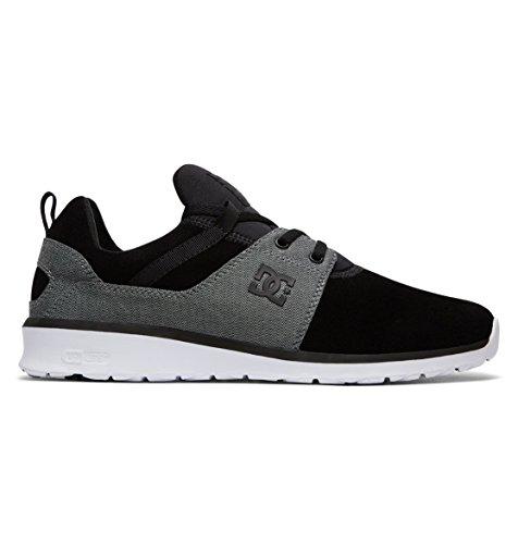 DC Shoes Herren Heathrow SE Sneaker, Schwarz (Black Wash Bw8), 43 EU (Sneakers Shoes Athletic Dc)
