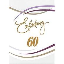 Einladungen 60 Geburtstag Suchergebnis Auf Amazonde Für