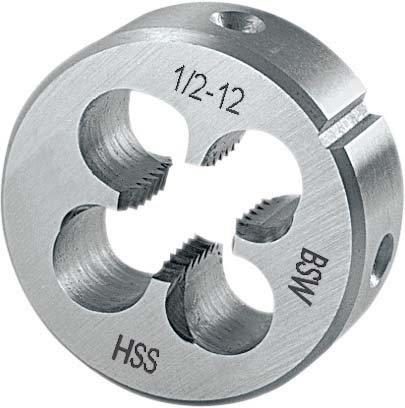 Filière en acier rapide en22568BSW1/4Z Format