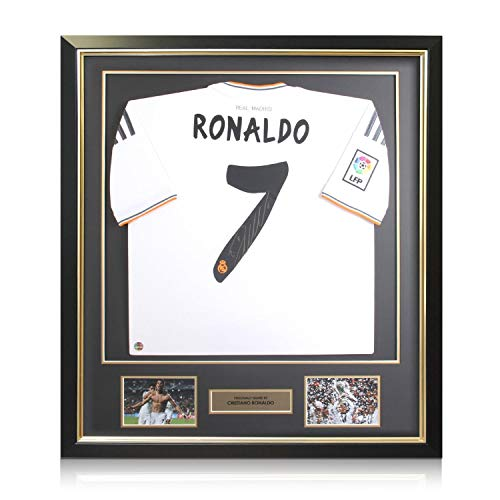 Exklusives Memorabilia EXC215DFG Unisex-Signal mit Autogramm, Mehrfarbig, Einheitsgröße (Cristiano Ronaldo-trikot-kit)