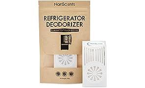 NonScents Kühlschrank-Deodorizer – hält bis zu 6 Monate – entfernt Gerüche schnell – übertrifft Backpulver und Kohle 1 pack